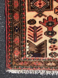 NEW 4x5 Persian Hamadan Handknotted Area Rug