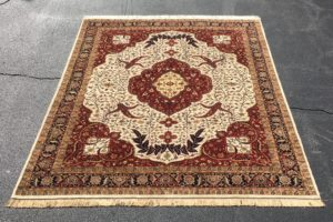 NEW 8×10 Handknotted Serapi Area Rug